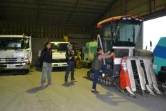102-3専用の大型農業機械を導入して作業効率化を実現